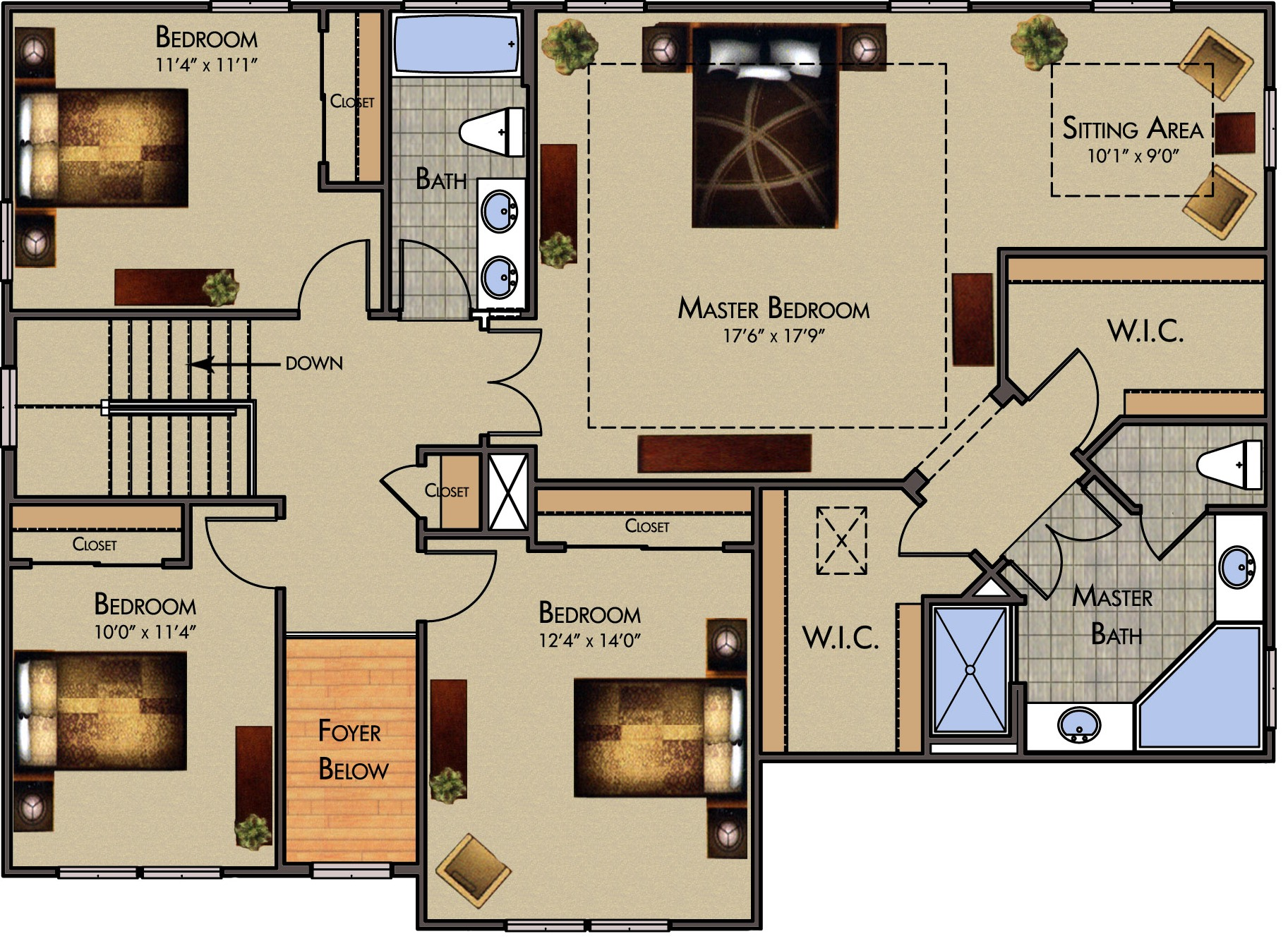 1st floor plan 2nd floor plan